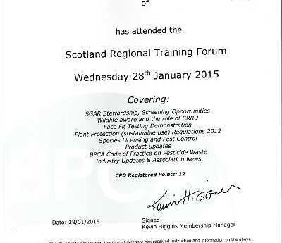 BPCA Scotland Regional Training Forum