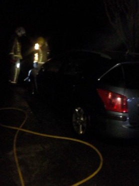 Pest Control Emergency Response Vehicle Set Ablaze