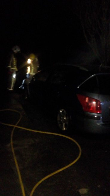 Emergency response vehicle of Czechmate Pest Control in Ayrshire was set ablaze by thugs in Stevenston on Friday night.