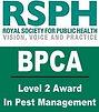 BPCA/RSPH Level 2 Award in Pest Management