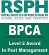 BPCA/RSPH Level 2 Award in Pest Management
