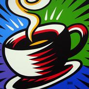 Burton Morris Coffee Cup