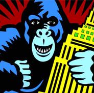 Burton Morris King Kong