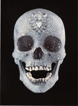 Damien Hirst - Lenticular skull