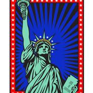 Burton Morris Lady Liberty