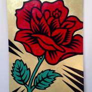Burton Morris  Shakespeare's Red Rose