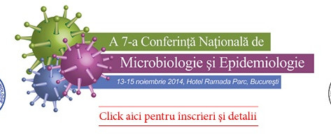 Lucrare Conferinta de Microbiologie si Epidemiologie 13-15 noiembrie 2014