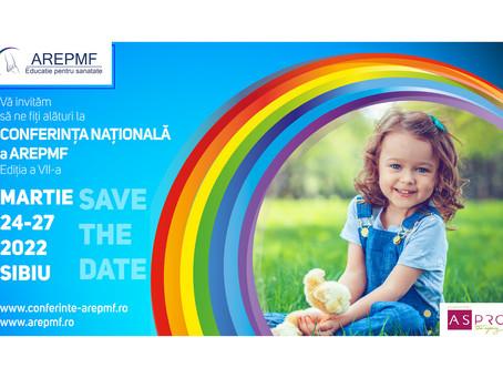 Conferinta Nationala a AREPMF 2022, editia a VII-a