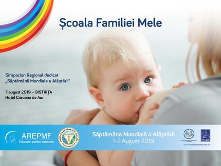 Echipa AREPMF continuă seria evenimentelor dedicate Săptămânii Mondiale a Alăptării.