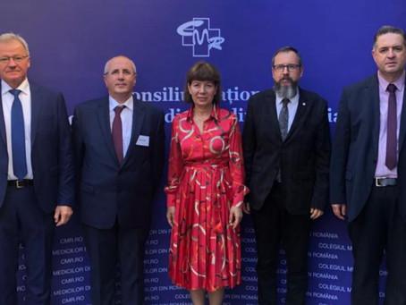 Colegiul Medicilor din România, o nouă viziune! – Conducere nouă la Colegiul Medicilor din România