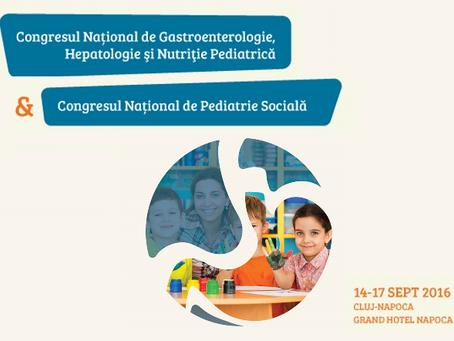 Congresul Gastroenterologie şi Hepatologie Pediatrică