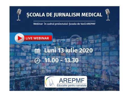 Școala de Jurnalism Medical - Ediția a II-a