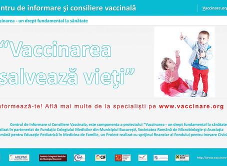 Proiectul Vaccinarea un drept fundamental la sanatate