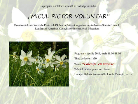"""Micul pictor voluntar"""