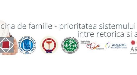 Conferinta Regionala de Medicina de Familie, Arad 2015: Medicina de familie – prioritatea sistemului