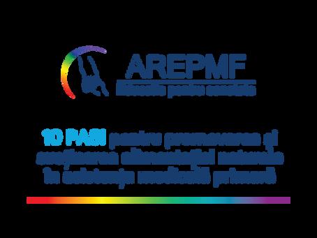 10 pasi pentru promovarea si sustinerea alimentatiei naturale in asistenta medicala primara