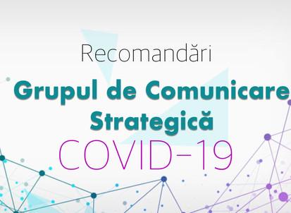 15 RECOMANDĂRI privind conduita socială responsabilă în prevenirea răspândirii coronavirus (COVID-19