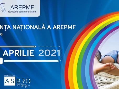Comunicat post-eveniment Conferința Națională a AREPMF - ediția a VI-a, 15-18 aprilie 2021