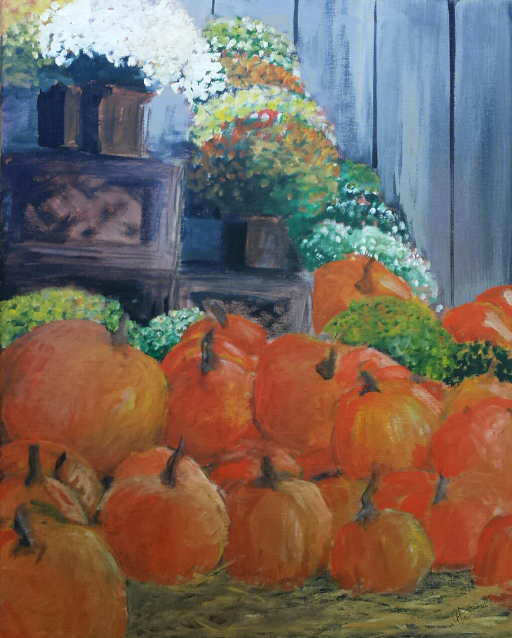 Autumn Market -  2014 - SOLD
