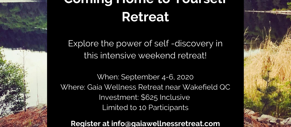 Coming Home to YourSelf Retreat