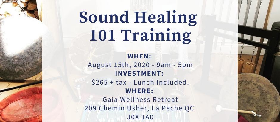 Sound Healing 101 Training