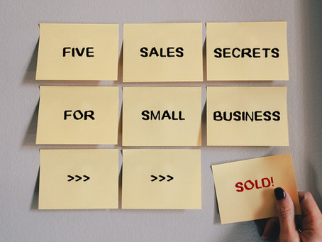 SMALL BUSINESS: 5 SALES SECRETS