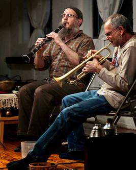 James Falzone and Lou Guarino