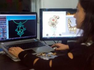 Modelagem 3D de Joias - Driely a Designer