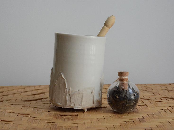 Tasse à café allongé ou à thé | Crème de riz