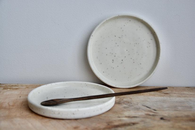 Lot de 2 coupelles en porcelaine mica satiné