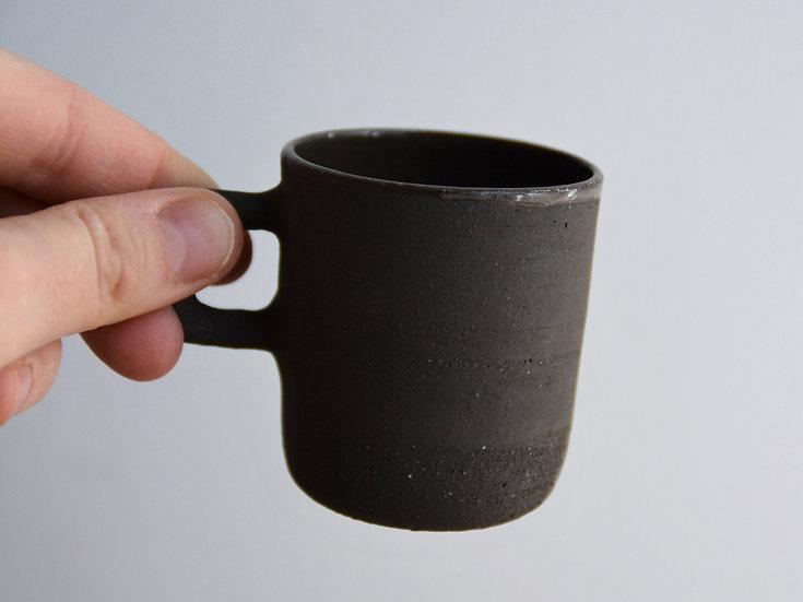 Tasse expresso chocolat noir intense (avec anse)