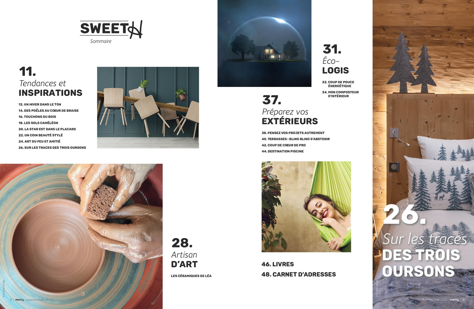 Sweet H Décoration / Automne Hiver 2020