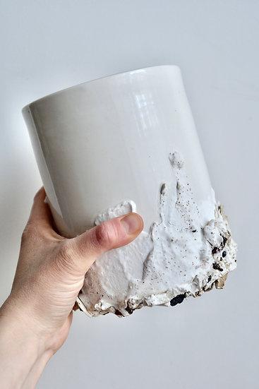 Vase très gourmand, entremet coco passion