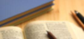 英和辞書とシャープペンシル