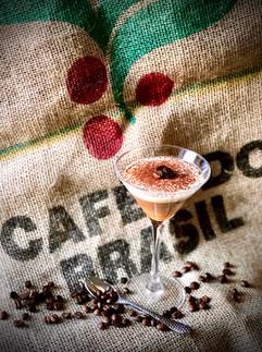 Espresso martini chocolate mousse