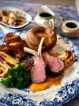 Sunday roast duo of lamb