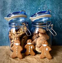 Biscuit jar baking day