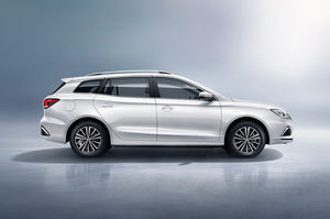 Roewe A Chinese Car Brand From Saic Has Released New Model Ei5 Which As Far We Know Is Really The First Electric Station Wagon Design To