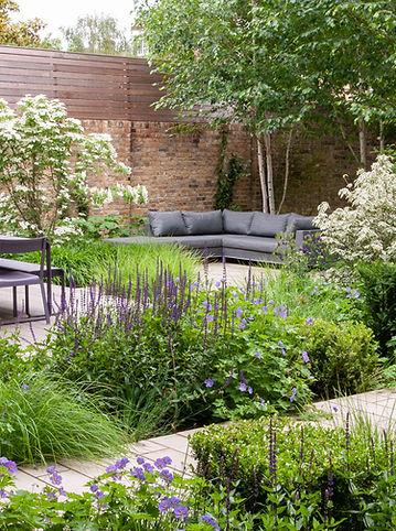 Contemporary Front Garden