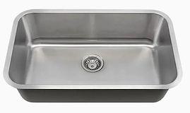 KSN-3018-R25 Single Bowl Undermount Sink