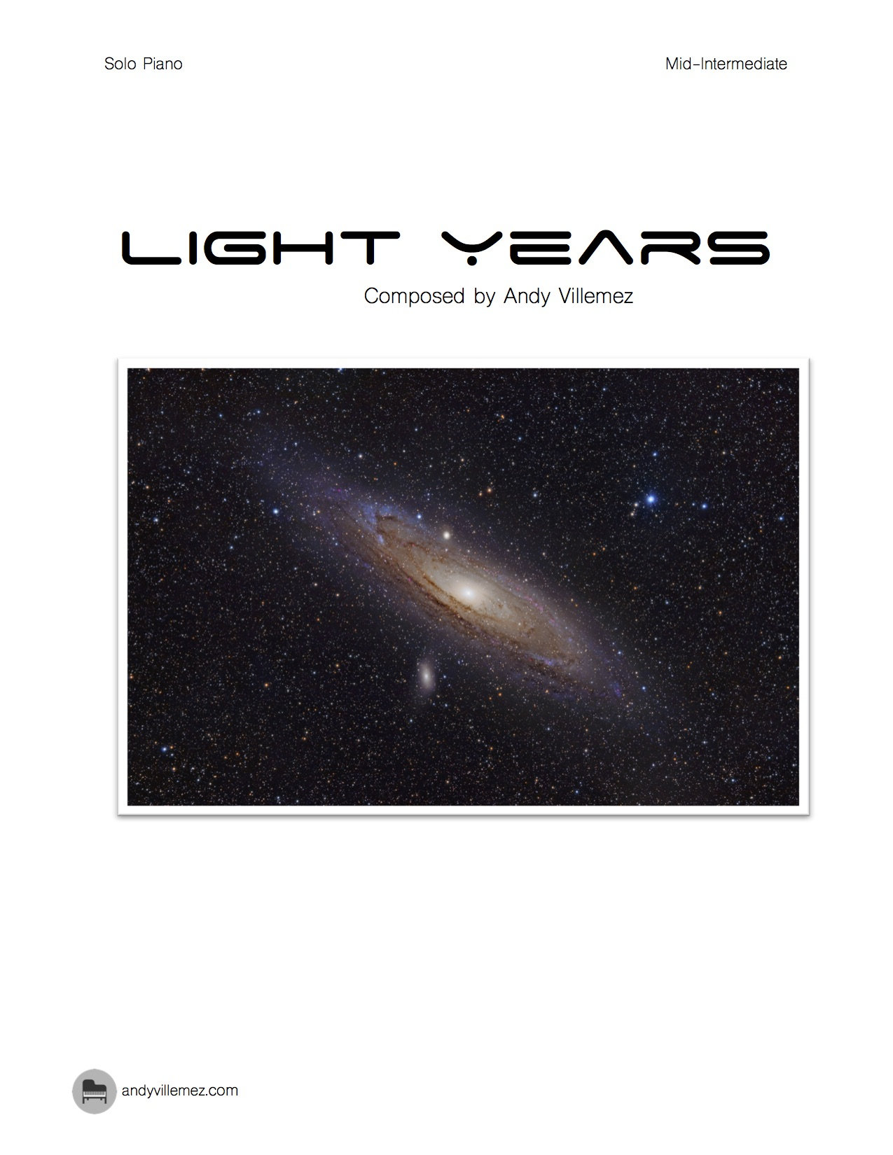 Light Years Cover