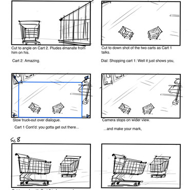 Carts Storyboard pg.2
