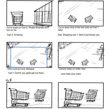 Carts Storyboard pg.2