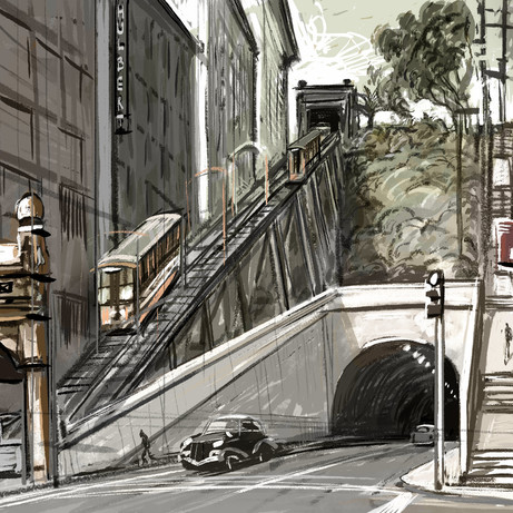 Angels Flight steps