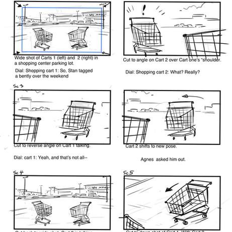 Carts Storyboard