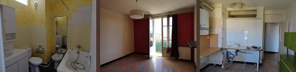L'appartement Avant Rénovation