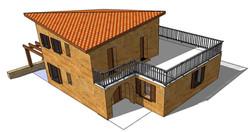 Maison en Pisé - Autoconstruction