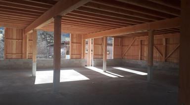 Etable bois - architecture écoconstructi