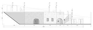 Projet Médiathèque, matériaux naturels, Architectes,Casalonga, Bartoli, Mariani