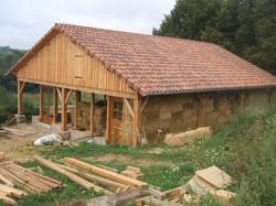 Maison Structure bois Isolation paille
